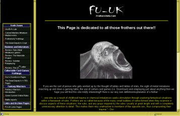 The Old Website